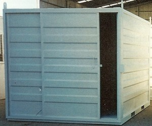 Sliding Door Container